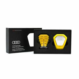Original Audi Duftspender Singleframe gelb belebend 80A087009B