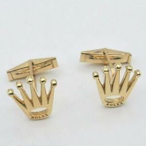 14kt Solid Yellow Gold Cufflinks Vintage