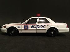 New Jersey Department of Corrections NJDOC 1:24 Scale Ford Crown Victoria