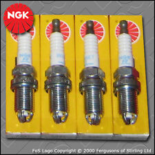 NGK SPARK PLUG SET BKUR6ET-10 x4 STOCK NO. 2397