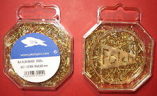 10mm x 0.60mm 1000 Count FINE BRASS MODEL MAKING, CRAFT, HOBBY PINS