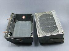 2 enceintes pour haut-parleur autoradio en plastique avec patte de fixation