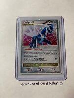 Dialga Lv.X - BRAND NEW - DP 17 Diamond & Pearl Black Star Promo Holo Pokemon