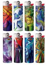 New Bic Special Edition Blown Glass Series Lighters - 8 Pack - Free Shipping!