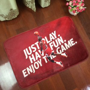 Michael Jordan Dunk Carpet Mat Super Soft Anti Slip Rugs Basketball