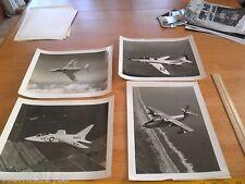 VINTAGE Grumman F11 F-1 Tiger jet F9F-8P Cougar lot photos 8x10 SA-16A Albatross
