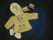 Genuine American Girl Doll Clothes-Emily 's Snowsuit