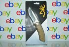 Browning Patriot Fixed Blade Knife with Camo Sheath 7cr7mov Stainless Steel