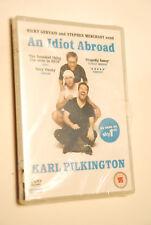 AN IDIOT ABROAD RICKY GERVAIS STEPHEN MERCHANT KARL PILKINGTON DVD SKY1