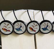 Shower Curtain Hooks Bluebirds & Finch Set Of 11 Bath Decor