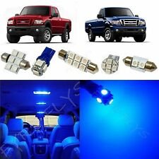 6x Blue LED lights interior package kit for 1998-2011 Ford Ranger FR1B
