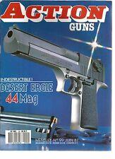 ACTION  GUNS N°99 DESERT EAGLE 44 MAG / 31e BRIGADE ZAIROISE / BUCK TITANIUM