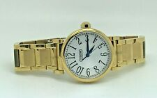 COACH 14501720 Madison Stainless Steel Gold Tone Women's Watch  (88E)