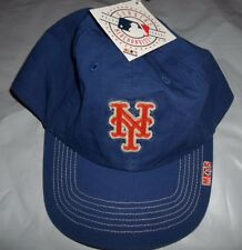 OFFICIAL NEW YORK METS GENUINE MLB VTG EMBROIDERED COTTON BASEBALL BALL CAP HAT