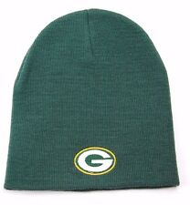 NFL TEAM APPAREL CUFFLESS KNIT WINTER HAT/BEANIE/TOQUE - GREEN BAY PACKERS