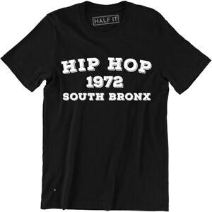 Hip Hop 1972 South Bronx Shirt - Gothic New York NYC 718 917 Hip Hop Tee Street