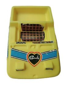 Vintage Sindy Doll Yellow Dune Buggy Jeep Car