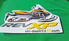 """Ski Doo, REV, ski-doo REV XP, Snowmobile, Sticker/Decal , 5-3/4"""" x 3-3/4"""""""