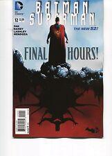 BATMAN/SUPERMAN #12 - JAE LEE COVER - GREG PAK SCRIPTS - THE NEW 52 - 2014