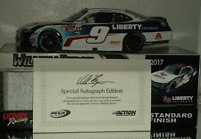 2017 William Byron #9 Liberty University Autographed 1/24 Car#156/909 W/Fcoa