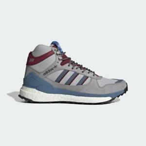 Adidas Marathon Free Hiker Human Made Mens Hiking Shoes Grey/Burgundy FY9149 NEW