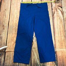 Cherokee Workwear Work Pants Women Size XS Scrub Pants Bottoms Nursing Blue C132