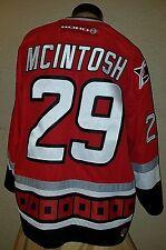 NEW KOHO NHL Carolina Hurricanes #29 Mcintosh Stitched Authentic Jersey Mens XL