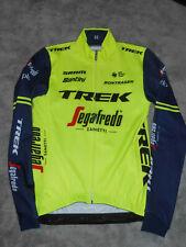 Santini Team Trek Segafredo fluo yellow thermal jersey winter trikot
