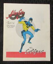1962-63 Winter ALTER EGO Fanzine #5 FN 6.0 The Eclipse
