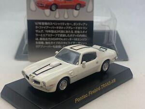Pontiac Firebird TRANS-AM white '70~ Kyosho 1/64 Die-cast part.2