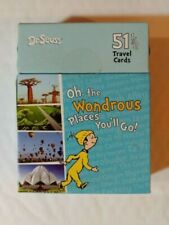 Dr. Seuss Oh The Wondrous Places You'll Go 51 Travel Cards -Only 1 On Ebay-
