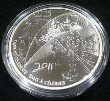CANADA 2011 - 0.9999 Pure Silver Token Medallion - RCM - Employee - Very Rare