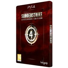Sudden Strike 4 Steelbook Limited Edition for Sony Ps4 (playstation 4)