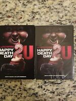 HAPPY DEATH DAY 2U-HAPPY DEATH DAY 2U DVD NEW SEALED WITH SLIP COVER FREE S/H