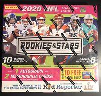 2020 Panini Rookies and Stars Mega Box NFL *Tua, Burrow, Herbert* Factory Sealed