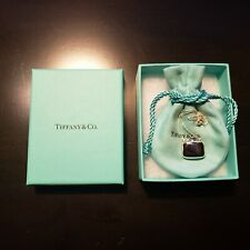 "Tiffany & Co. Elsa Peretti Square Bottle Pendant Necklace 18"" Sterling Silver 92"
