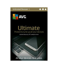 AVG Ultimate - Unlimited Device / 1-Year - Global - CD