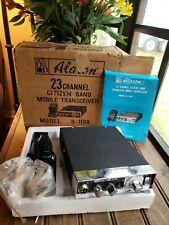 Vintage Alaron CB Radio 23 Channel Citizen Band Mobile Transceiver Model B-1100