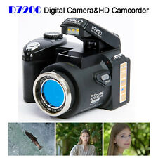 POLO D7200 33MP 1080P HD Digital Camera DSLR +3 Lens HD Camcorder Telephotos Len