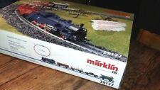 coffret HO MARKLIN 29177 vapeur et wagons marchandise