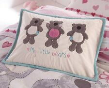 Kids Cushion, Oblong My Little Bears in Cream
