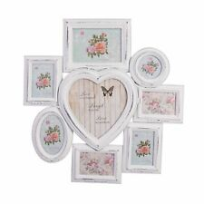 Picture Frame White Antique Wood Frame Wall Frame Photoframe Collage Heart