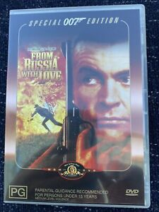 From Russia With Love DVD. 007 James Bond. Free Postage