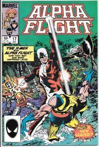 Alpha Flight Comic Book #17 Marvel Comics 1984 VERY FINE/NEAR MINT NEW UNREAD