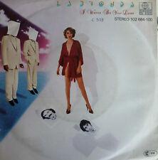 "7"" 1980 ACC. MINT- ! LA BIONDA : I Wanna Be Your Lover"