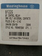 BF22G QTY 1 WESTINGHOUSE BF CONTROL RELAY 300V NEW