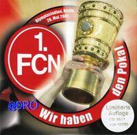 CD + 1.FC Nürnberg + Wir haben den Pokal + Limitierte Auflage mit Nummerierung +