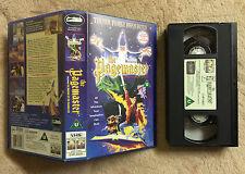 THE PAGEMASTER - MACAULAY CULKIN - VHS VIDEO