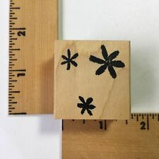 Savvy Rubber Stamp - Daisy Background - NEW