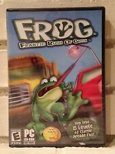 frantic rush of green --- f.r.o.g. --- adventure computer game --- new